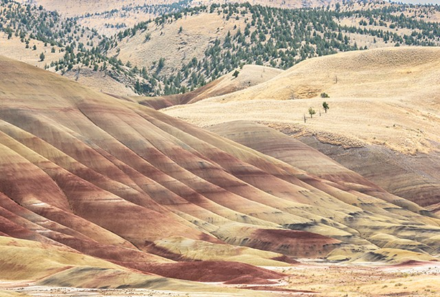 Painted Hills II  Aug 2017