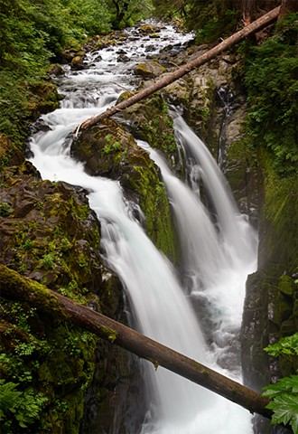 The Classic Sol Duc Falls  June 2019