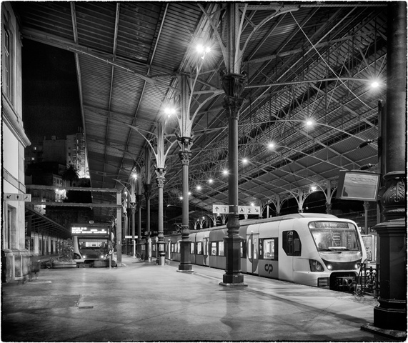 Porto Train Station  July 2012