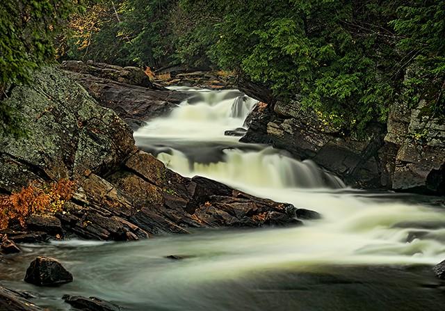 Oxtongue Rapids near Algonquin Park  September 2012