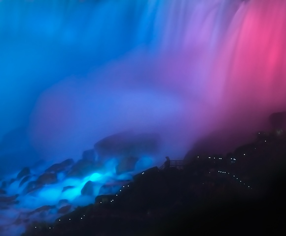 Niagara at Night: American Falls  2009