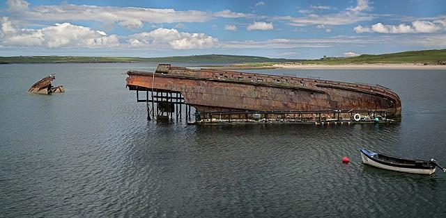 Blocking Ship - Skara Brae  May 2015