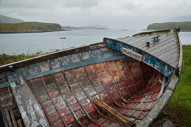 Abandoned on Iona  June 2015