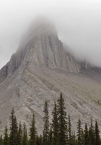 Cathedral Peak in Shroud  Aug 2018