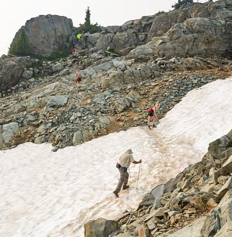 Crossing the Snowdrift