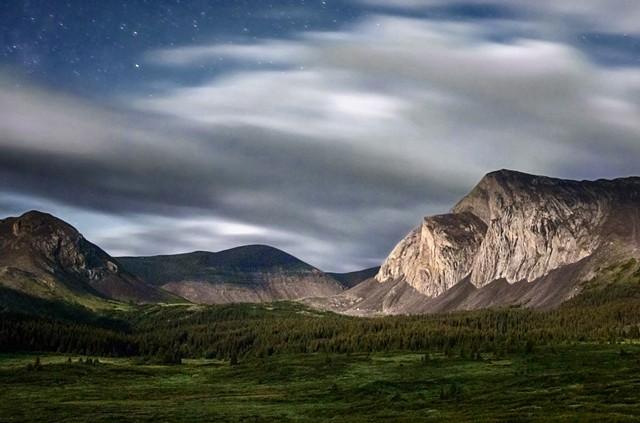 Moonlit Jacknife Pass