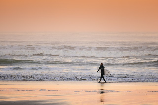 Surfer at Dawn  Sep 2016