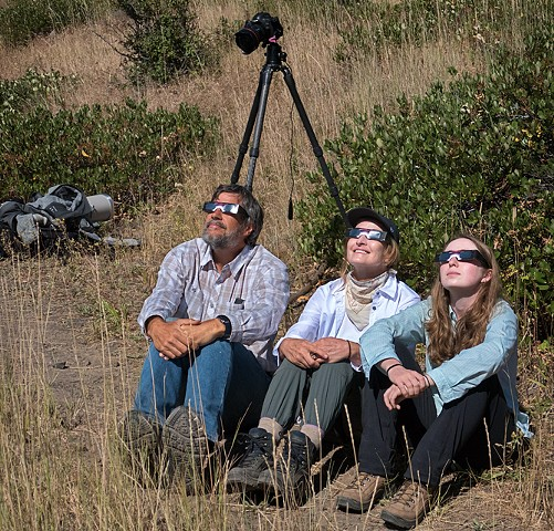 At the Eclipse VIII  Aug 2017