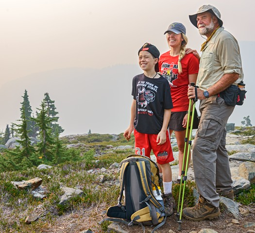 Three Generations of Hikers