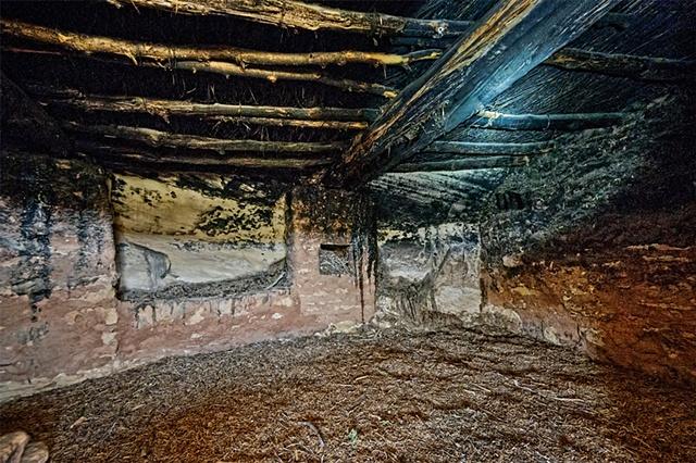Interior of Anasazi Kiva