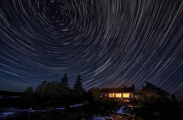 Rock Island Lodge Star Trail  September 2013
