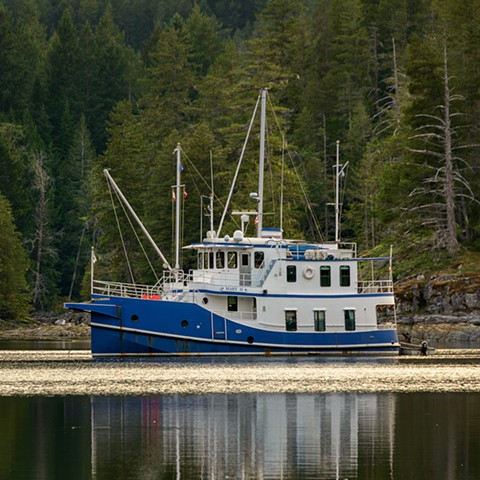 Some Boats do get in Von Donop Inlet