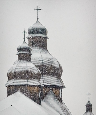 St. Elias Church in Snow  January 2014