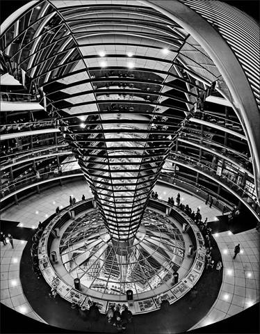 Reichstag Dome Interior  Nov 2012
