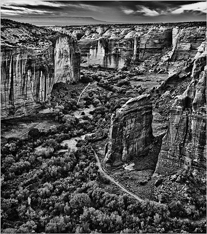 Canyon de Chelly at Dusk  Nov 2010
