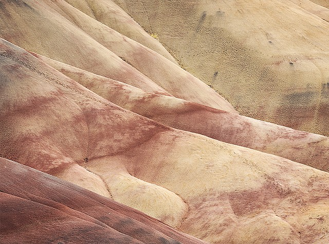 Painted Hills Detail  Aug 2017