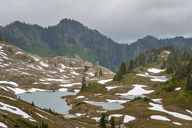 Icy Basin Lakes  June 2019