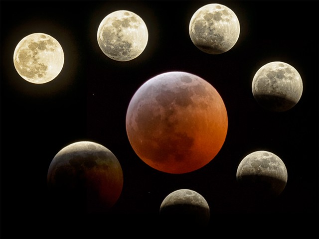 Lunar Eclipse Sunday Jan 20, 2019