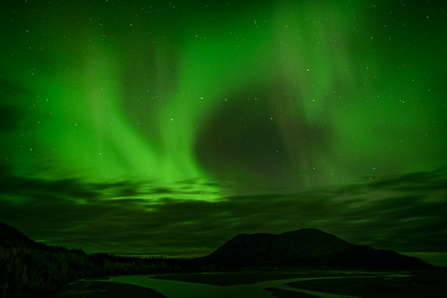 White River Aurora - Yukon  Sep 2014