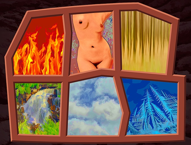 After Magritte's Six Elements  Jan 2012