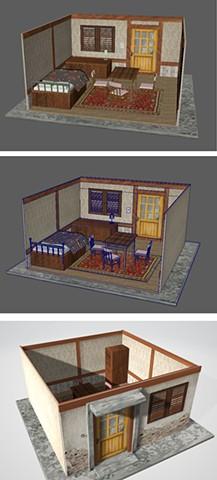 Sister's room_3D Modeling