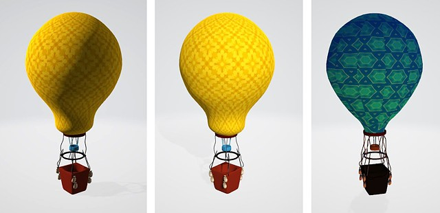 Air Balloons_3D Modeling