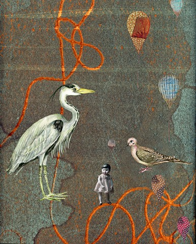 the Heron and the Dove