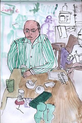 Vincenzo Di Nicola at Casa Del Popolo
