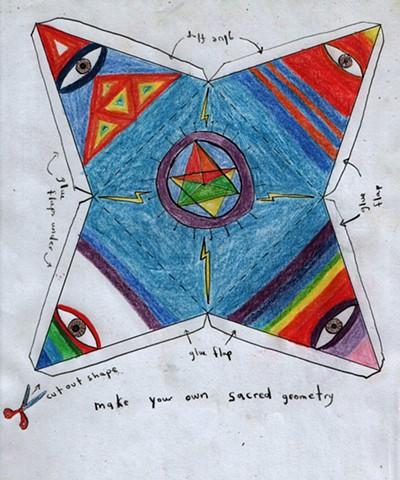 Sacred Geometries: Make your own sacred geometry