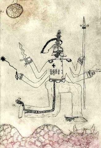 The Many Armed Tea Warrior