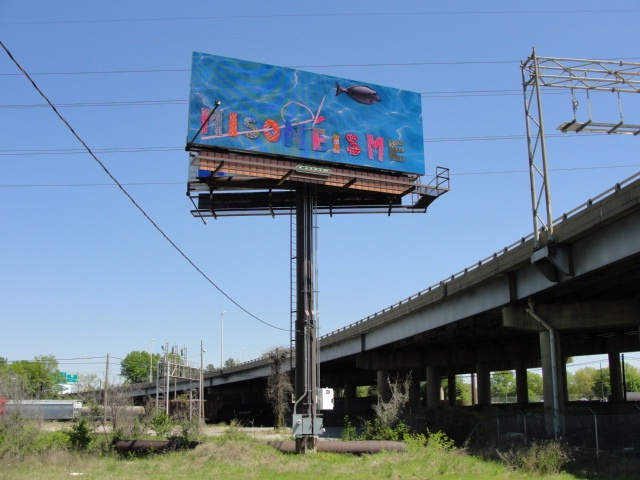 Misoneism, mais en francais The Billboard Project, Richmond, Virginia, USA