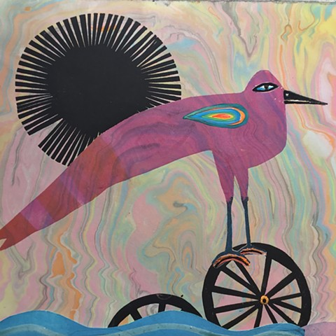 """Watch out there,"" A cheerful gender neutral bird with tears in its eyes was watching them. They were perched on what seemed to be the wheels of an upturned wagon. ""It's fun to state the obvious so I'm just going to say it. Looks like you're dealing with"