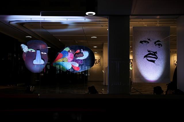 The Conversation at MLK50 Exhibition, Place des Arts, 2013
