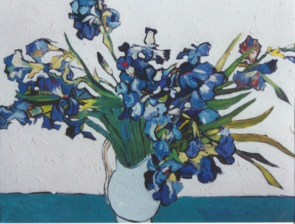 Rendition of Van Gogh's Irises