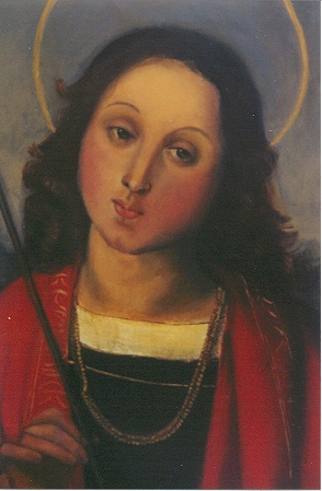 Rendition of Raphael's St. Sebastian