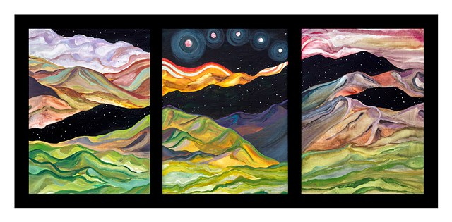 cosmic mountains