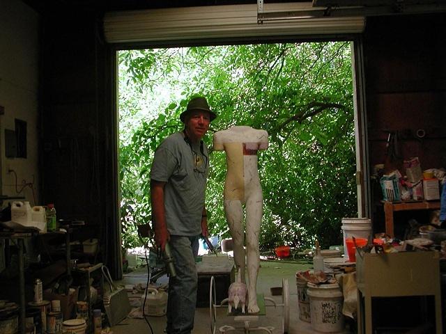 Dan in Summer Studio