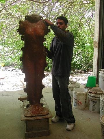 Mold work