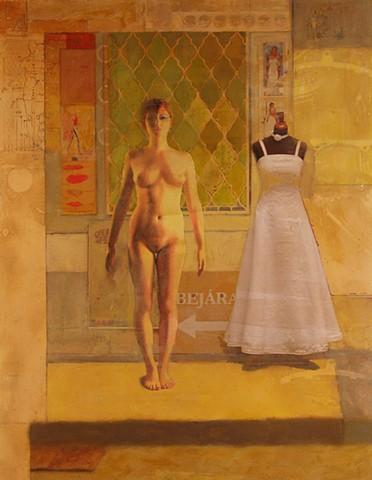 New figurative painting by Dan Corbin.