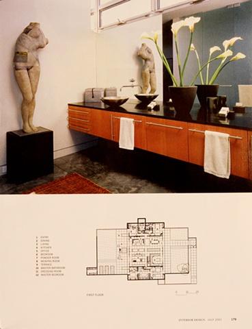 Interior Design July 2001