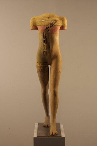 A female sculpture from the Walker Series by sculptor Dan Corbin is now at the Winfield Gallery, Carmel CA