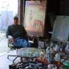 Dan in Painting Studio