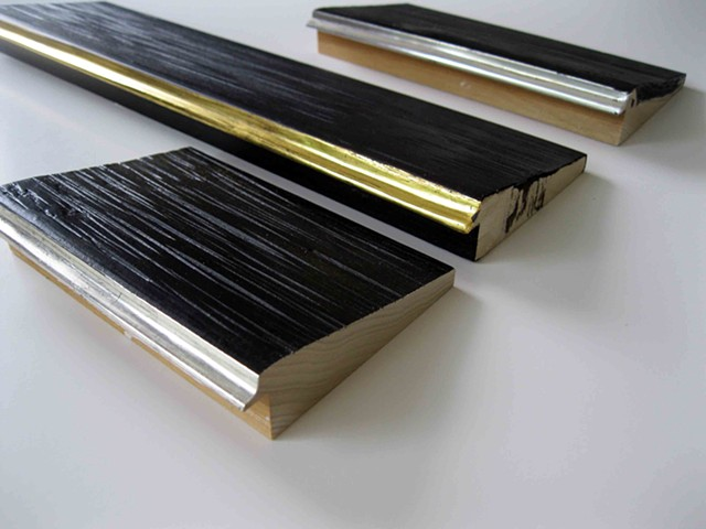 custom made in Maine picture frames in gilded finishes for Andrew Wyeth painting