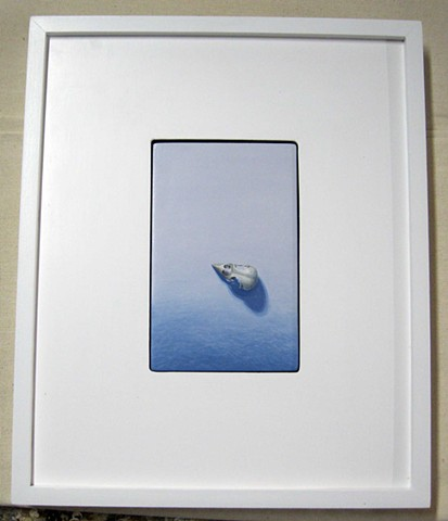custom made in Maine canvas floater frame
