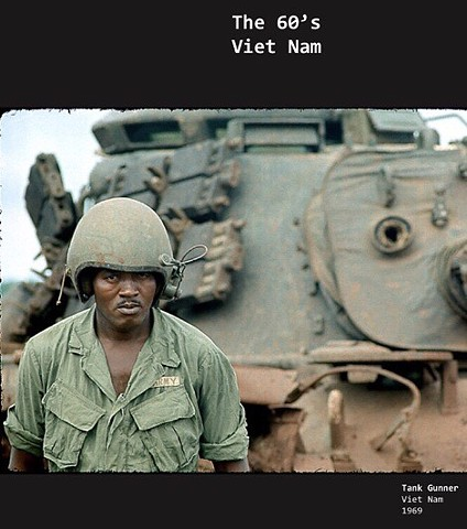 Dwight Carter Photography, Tank Gunner, Viet Nam, 1969. Limited Edition.