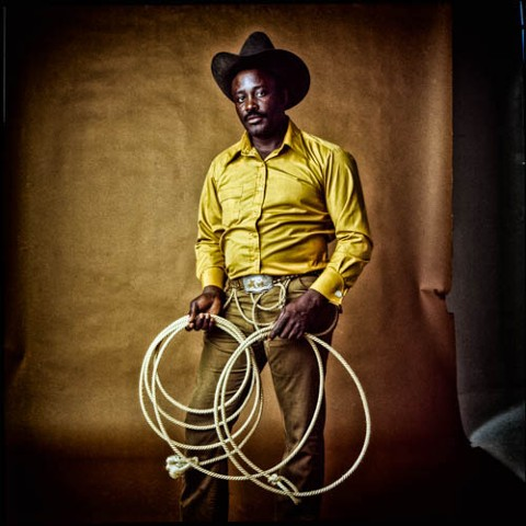 Artwork above: Dwight Carter, Cowboy 5, 1971/2015, limited edition archival pigment ink print, 16 x 16 inches