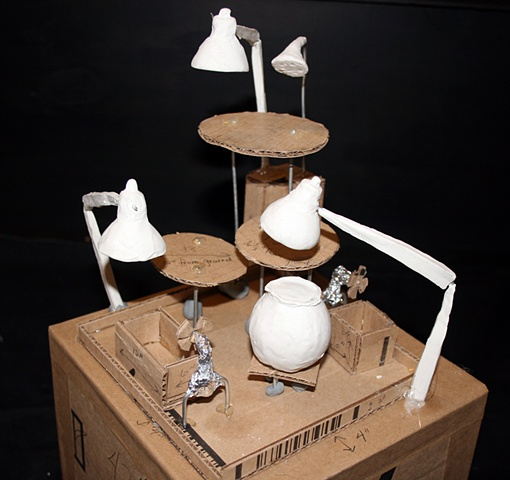 Synthetic Symbiosis scale model