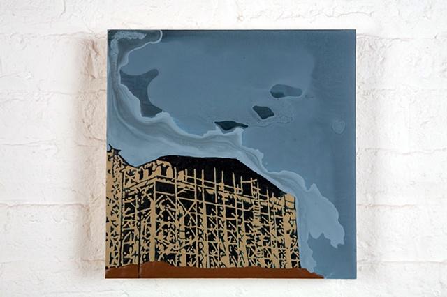 Nashville Parthenon Construction