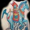 WIND HORSE (TIBETAN)