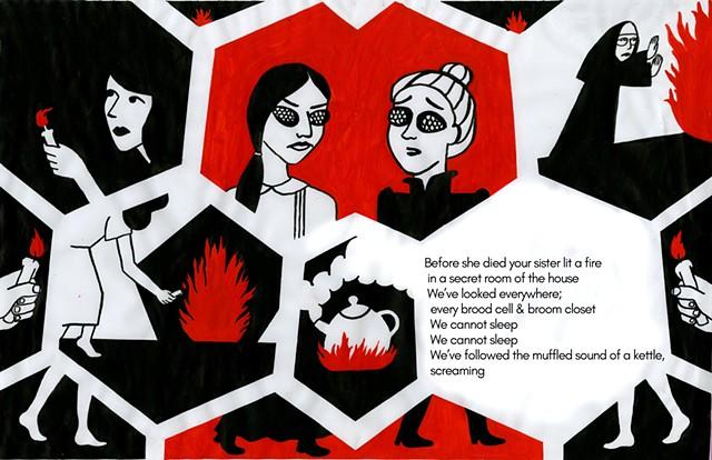 Swarm (collab with Mary Haidri)